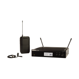 SHURE BLX14RE/CVL безжична система за вграждане в рак с микрофон брошка CVL