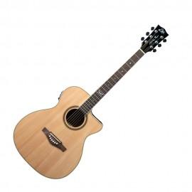 Електро-акустична китара Eko NXT A100CE See THROUGH Natural