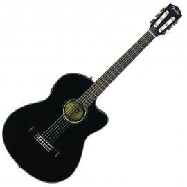 Озвучена класическа китара Fender CN-140SCE BLK W