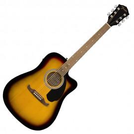 Електро-акустична китара FENDER FA-125CE-SB WM
