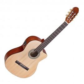 Класическа китара озвучена TOLEDO PRIMERA SPRUCE CE 44-NT CUTAWAY w/PREAMP