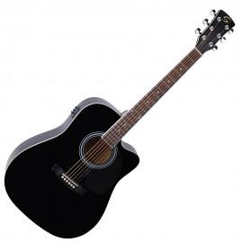 Електро акустична китарая Soundsation YELLOWSTONE DNCE BK