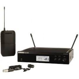 SHURE BLX14RE/W85 безжична система за вграждане в рак с микрофон брошка WL185