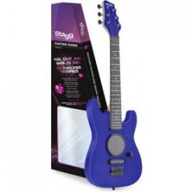 GAMP200-BL детска електрическа китара с усилвател