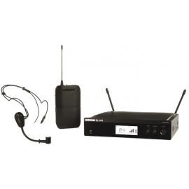 SHURE BLX14RE/PG30 - безжичен микрофон хедсет
