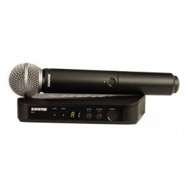 SHURE Вокален безжичен микрофон BLX24E/SM58
