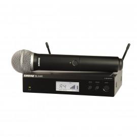 SHURE BLX24RE/PG58 вокален безжичен микрофон