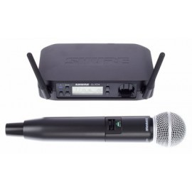 SHURE GLXD24E/SM58-Z2 дигитален вокален безжичен микрофон