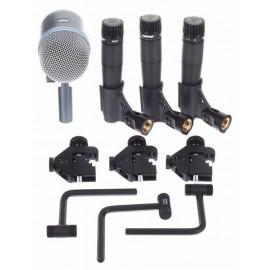 SHURE DMK57-52 комплект микрофони за барабани