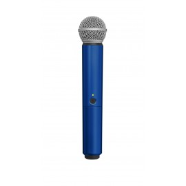 SHURE WA713-BLU - цветен корпус за безжичен микрофон SHURE BLX SM58 и BETA58 - СИН