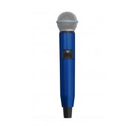 SHURE WA723-BLU - цветен корпус за безжичен микрофон SHURE GLX-D SM58 и BETA58  - СИН