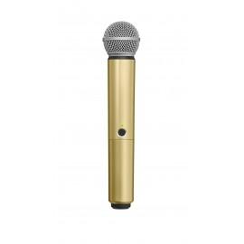 SHURE WA713-GLD - цветен корпус за безжичен микрофон SHURE BLX SM58 и BETA58 - ЗЛАТИСТ