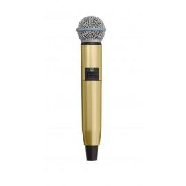SHURE WA723-GLD - цветен корпус за безжичен микрофон SHURE GLX-D SM58 и BETA58 - ЗЛАТИСТ