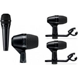 SHURE PGADRUMKIT4-XLR комплект 4 микрофонa за барабани