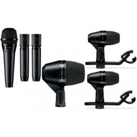 SHURE PGADMK6-XLR комплект 6 микрофонa за барабани