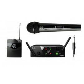 Двоен микрофон вокален+инструментален AKG WMS40 MINI2