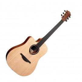 Електро-Акустична китара за лява ръка LAG Tramontane 70 TL70DCE CTW